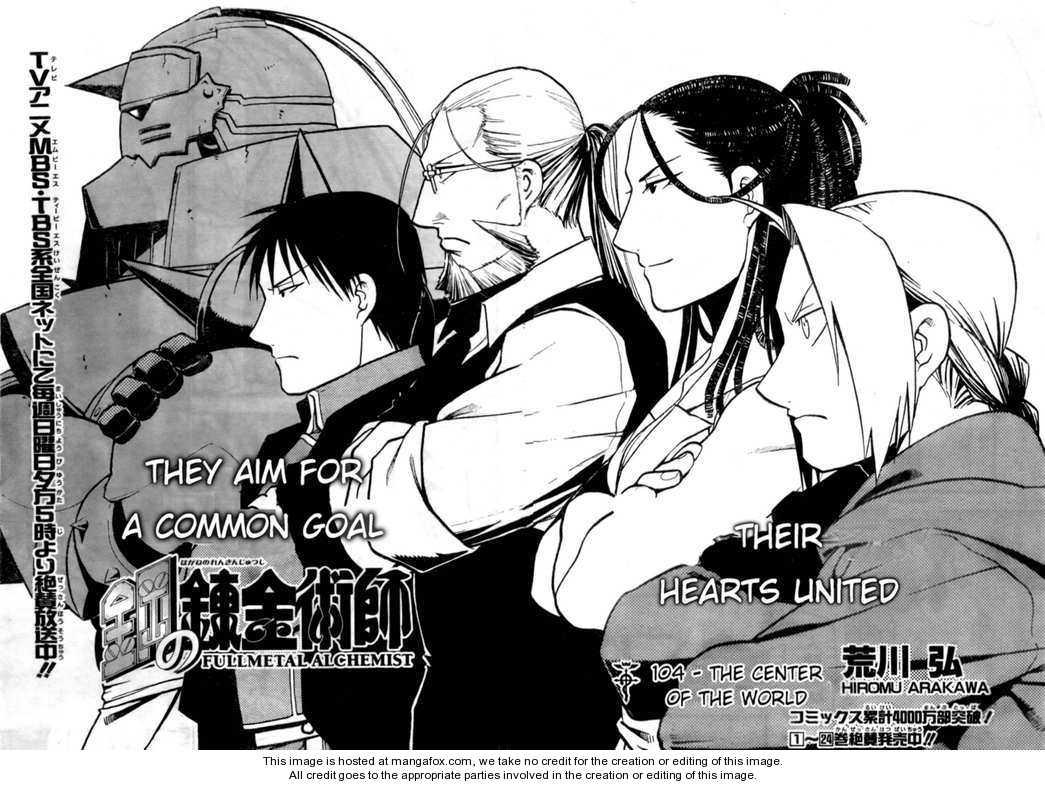 El manga de Fullmetal Alchemist llega a su fin ...